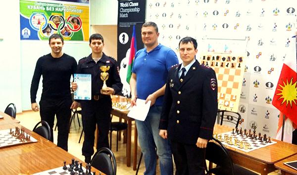 Северо-Кавказское региональное командование ВВ МВД России провело шахматный турнир