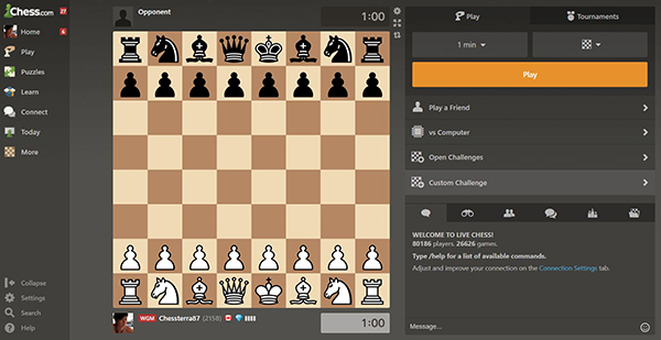 Stay Home, Play Chess Online