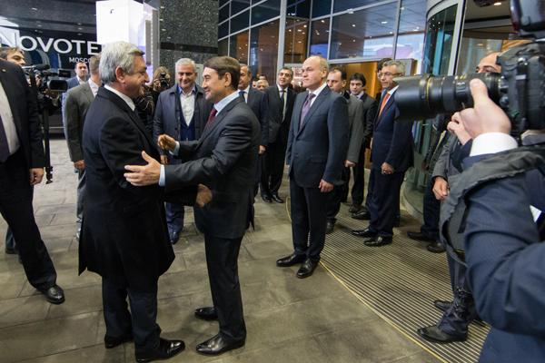 Президент Армении Серж Саргсян посетил Международный турнир TASHIR памяти Тиграна Петросяна