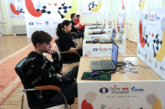 Team Russia Beats USA in Semifinal of FIDE Online Olympiad