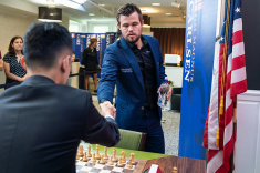 На супертурнире Chessable Masters начались полуфиналы