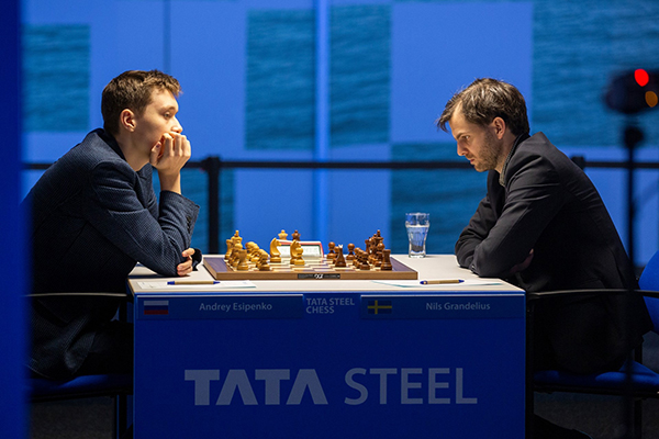 На супертурнире Tata Steel Masters завершен четвертый тур