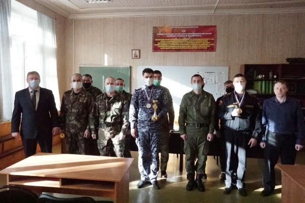 В Иваново состоялось областное первенство среди сотрудников Росгвардии
