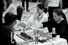 Alina Kashlinskaya Pursues Leader at European Women's Championship