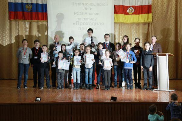 В РСО-Алании прошел детский турнир по рапиду