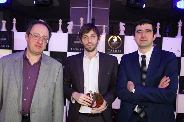 Александр Грищук - победитель Международного турнира TASHIR памяти Тиграна Петросяна