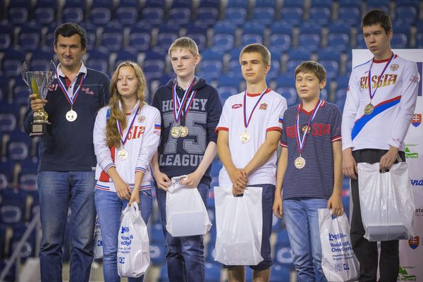 Russia Finishes Second At The Junior Olympiad
