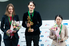 Kateryna Lagno Wins World Women's Blitz Championship
