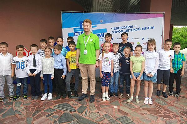 Владимир Поткин дал сеанс одновременной игры юным чебоксарцам