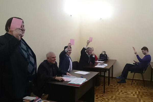 В Санкт-Петербурге состоялся Съезд региональной федерации шахмат
