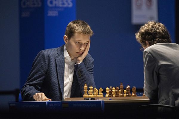 Андрей Есипенко делит второе место на супертурнире Tata Steel Masters