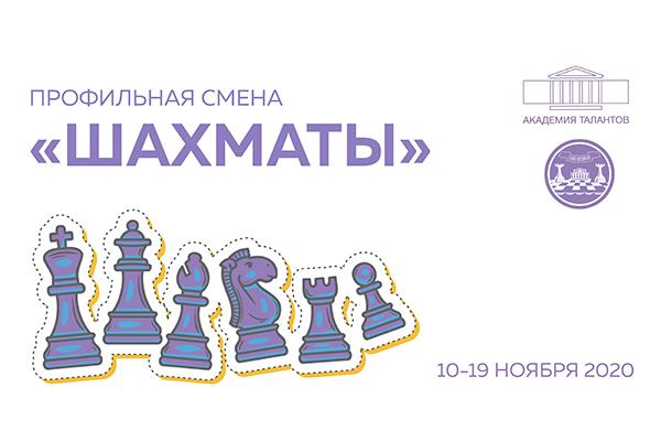 """В петербургской Академии талантов стартовала вторая профильная онлайн-смена """"Шахматы"""""""