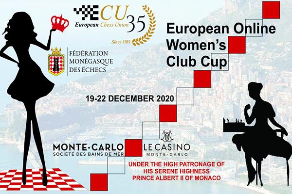 Шахматистки приглашаются принять участие в Еврокубке среди женских клубов