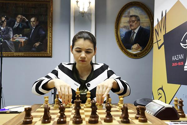 В Казани завершен первый круг турнира претенденток
