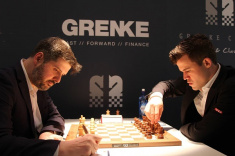 Magnus Carlsen Keeps Leading the Race at GRENKE Chess Classic