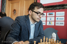 David Paravyan Wins Masters Tournament of Gibraltar International Festival