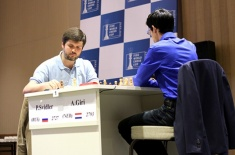 Peter Svidler Beats Anish Giri in the First Game