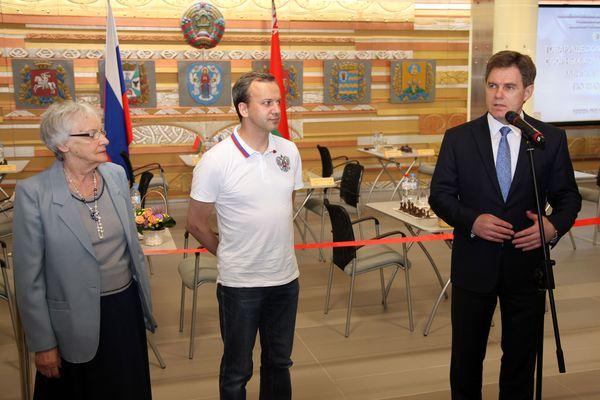 Галина Дворкович, Аркадий Дворкович и Игорь Петришенко