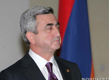 Сержа Саргсяна переизбрали на пост президента шахматной федерации Армении
