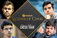 Semifinals of Legends of Chess Begin at Chess24.com