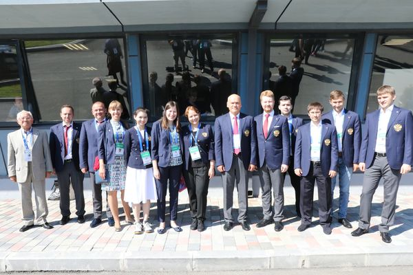 Batumi-2018. Russian national chess teams (photo by Eteri Kublashvili)