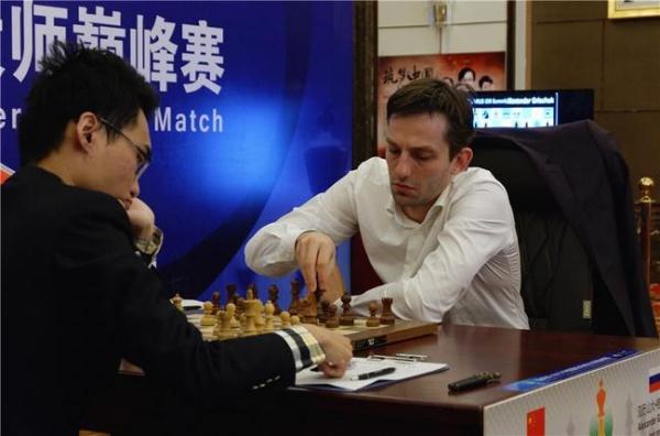 Александр Грищук выиграл матч у Юй Янъи со счетом 3:1