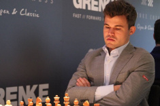 Magnus Carlsen Retakes the Lead at GRENKE Chess Classic