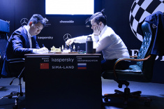 Ian Nepomniachtchi Beats Wang Hao at FIDE Candidates Tournament