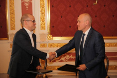 Head of Udmurtia Aleksandr Brechalov and RCF President Andrey Filatov Sign Cooperation Agreement