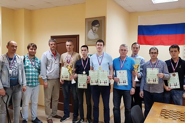 В Туле прошли Всероссийские соревнования по рапиду среди команд малых городов и сельских поселений