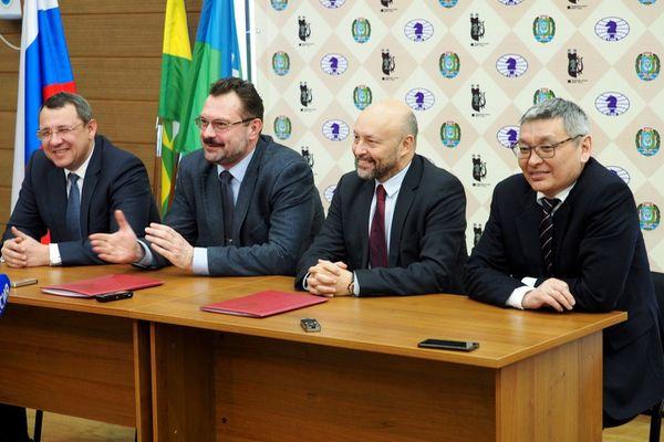 ФИДЕ и шахматная федерация Югры подписали соглашение о проведении Олимпиады