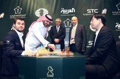 Five Rounds of World Rapid Championship Played in Riyadh