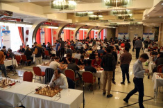 Aydin Suleymanli and Rauf Mamedov Lead the Race at Aeroflot Open 2020