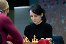 Kateryna Lagno Heads the Race at World Women's Blitz Championship