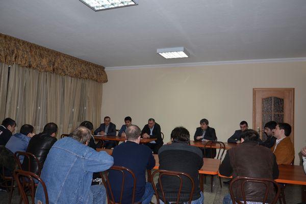 В Нальчике состоялось заседание президиума шахматной федерации СКФО