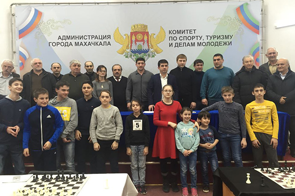Избран новый президент Федерации шахмат Махачкалы