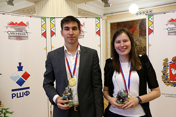 Дмитрий Андрейкин и Наталья Погонина - чемпионы России!