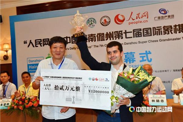 Ян Непомнящий - победитель супертурнира в Даньчжоу