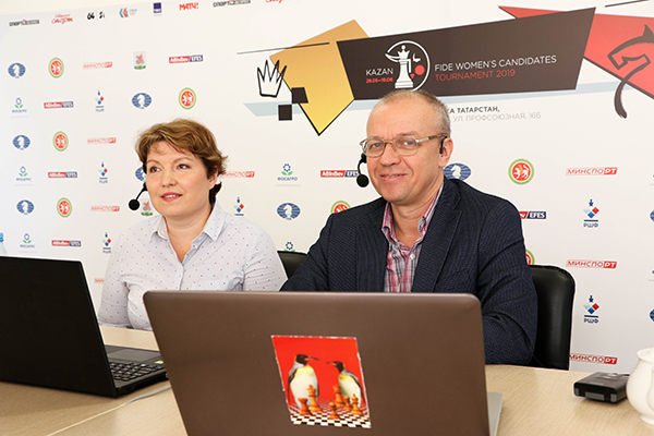 Final Games of FIDE Women's Candidates Tournament Played in