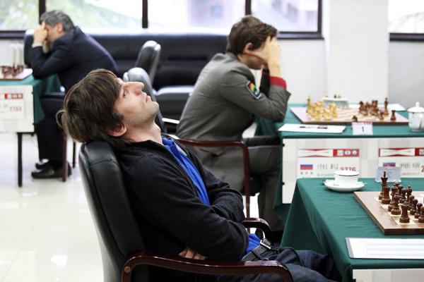 Александр Грищук догнал Сергея Карякина в Пекине