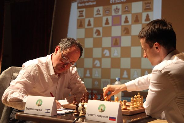 Boris Gelfand Defeats Ernesto Inarkiev in Game 14