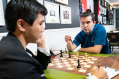Ian Nepomniachtchi and Ding Liren Share First Place at Sinquefield Cup