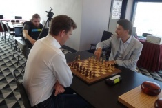 Morozevich Beats Hillarp Persson In Chess And Go Match
