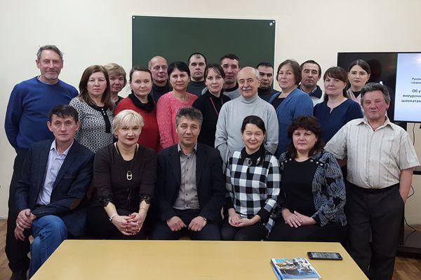 В Чебоксарах состоялись курсы повышения квалификации учителей по шахматам