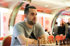 Ian Nepomniachtchi Wins Blitz Cup of Group of Companies Region