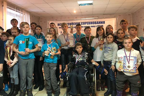"""В Пензе состоялись соревнования для детей-инвалидов """"Аленький цветочек"""""""
