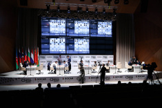 Round 4 of Vugar Gashimov Memorial Played in Shamkir