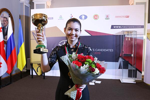 В Казани состоялось закрытие турнира претенденток ФИДЕ