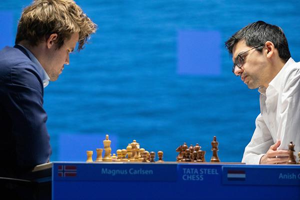 На супертурнире Tata Steel Masters сыграно 11 туров