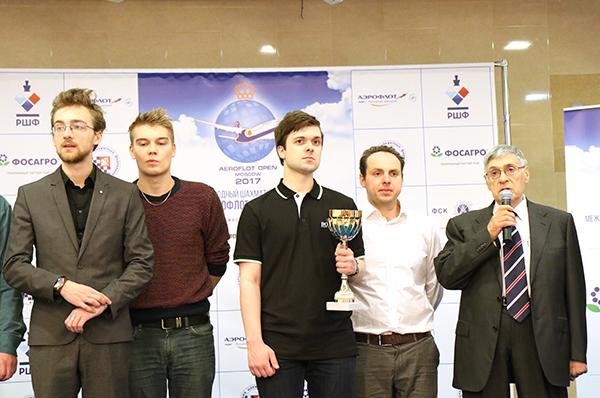 Владимир Федосеев выиграл главный турнир «Аэрофлот-опена»